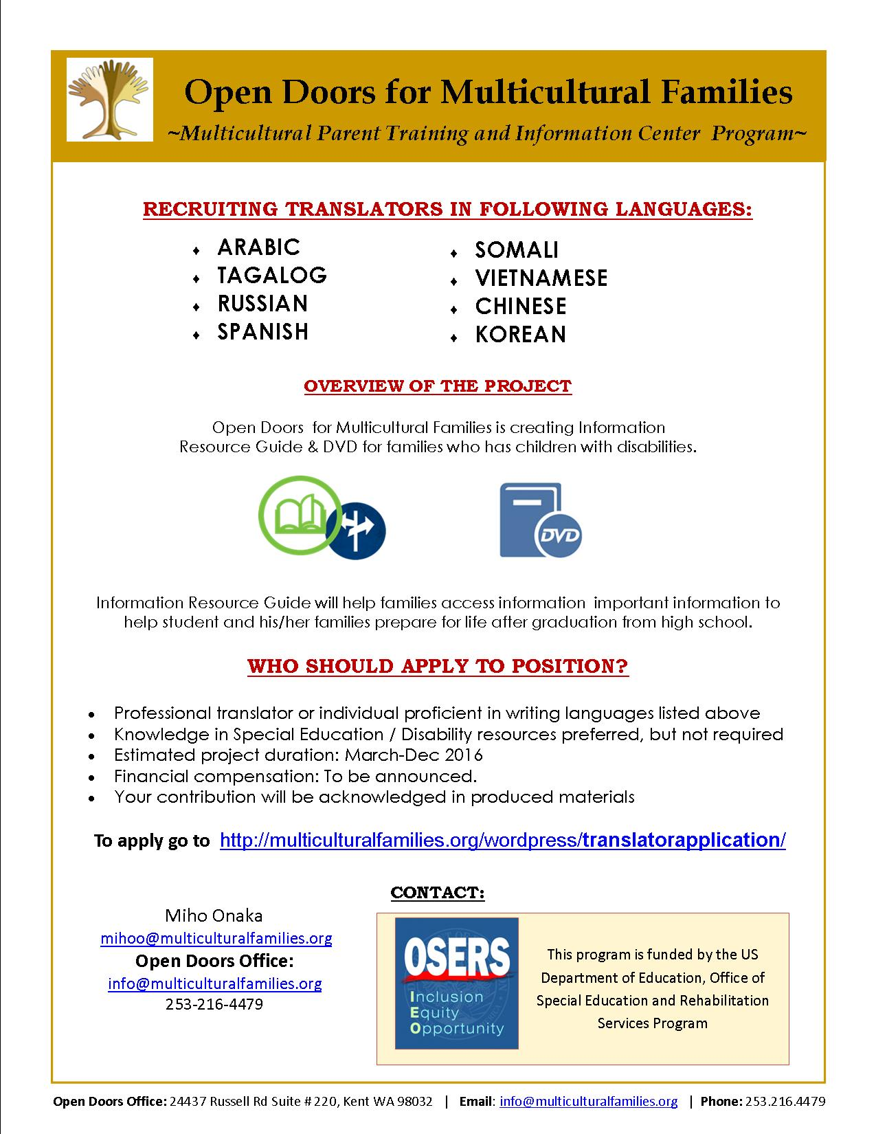 Youth Transition Program_Translator_with link – Open Doors