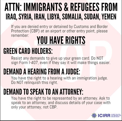 Immigrant & Refugee Rights